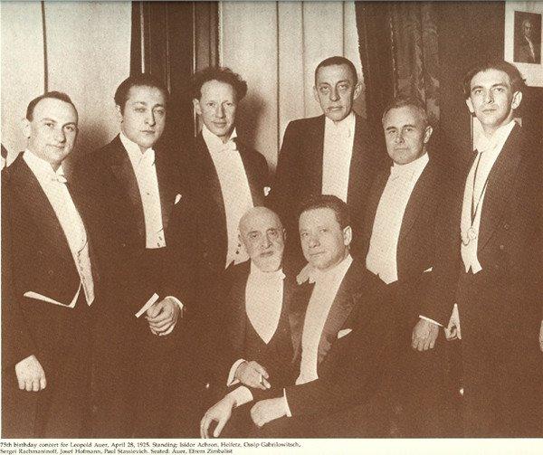 Auer, Rachmaninov  i ucheniki.
