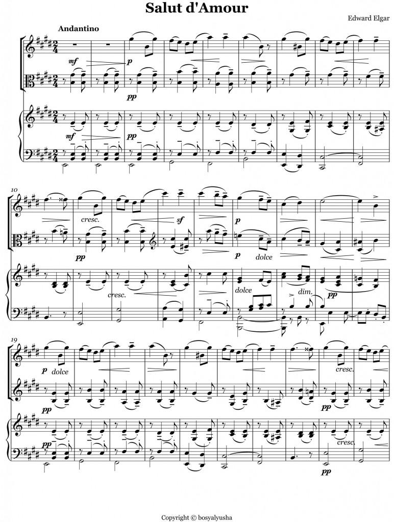 Elgar Salut D' Amore - -1